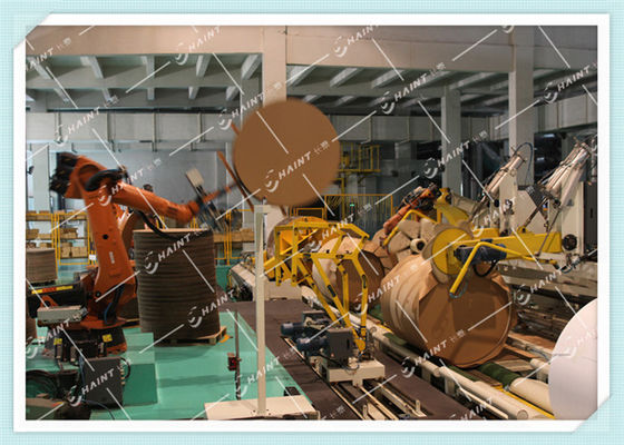 Industrial Assembly Line Robots For Inner Heads Placing Customized Color